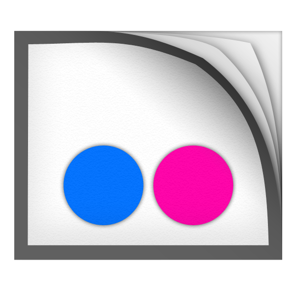 Flickr Icon 600x600 png
