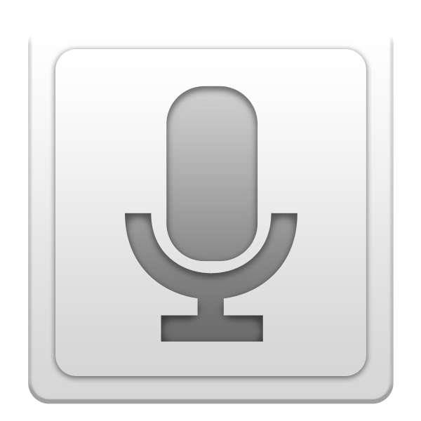 Voice Search Icon - Android Application Icons 2 ...