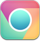 Chrome Play Colours Icon