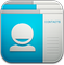 Contacts ICS Icon 59x60 png