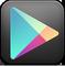 Google Play Black Icon 59x60 png