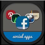 Folders Social Icon 144x144 png