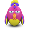 Fuxia Parrot Icon 96x96 png