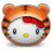 Hello Kitty Tiger Icon