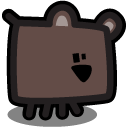 Brown Bear Icon 128x128 png