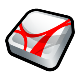 Adobe Acrobat Reader Icon 256x256 png