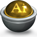 Illustrator AI Icon 128x128 png