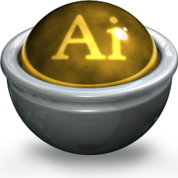 Illustrator AI Icon 256x256 png