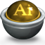 Illustrator AI Icon 64x64 png
