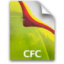 Adobe Dreamweaver CFC Icon