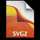 Adobe Illustrator SVGZ Icon