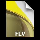 Adobe Soundbooth FLV Icon