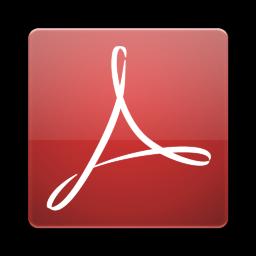 Adobe Acrobat Alt Icon 256x256 png