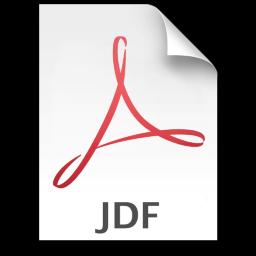 Adobe Acrobat JDF Icon 256x256 png