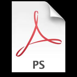 Adobe Acrobat PS Icon 256x256 png