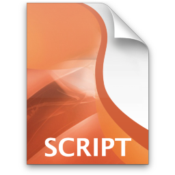 Adobe Director Script Icon 256x256 png
