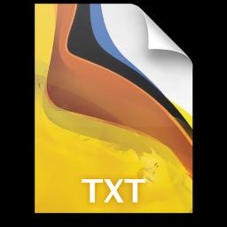 Adobe Fireworks TXT Icon 256x256 png