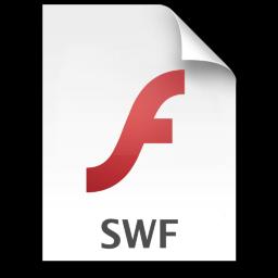 Adobe Flash Player SWF Icon 256x256 png