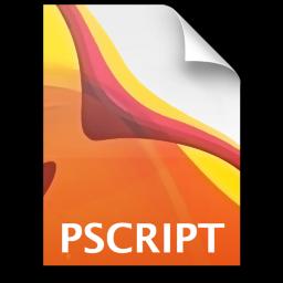 Adobe Illustrator Postscript Icon 256x256 png