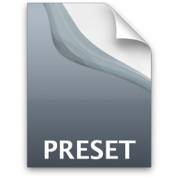 Adobe Photoshop Lightroom Preset Icon 256x256 png