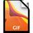 Adobe Illustrator GIF Icon