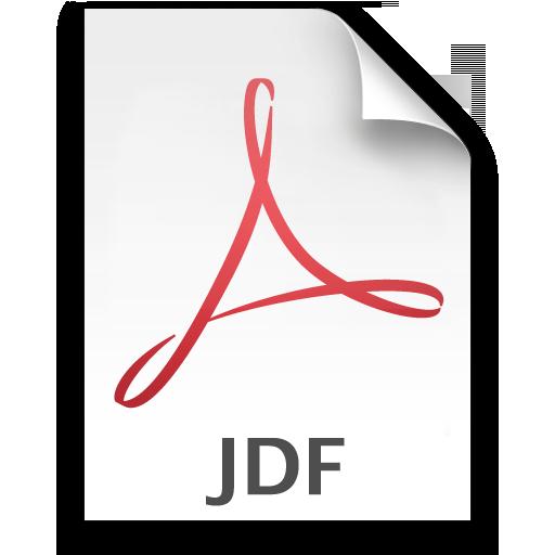Adobe Acrobat JDF Icon 512x512 png