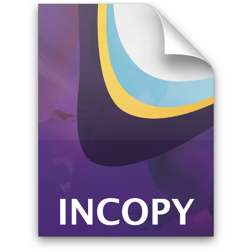 Adobe InCopy Document Icon 512x512 png