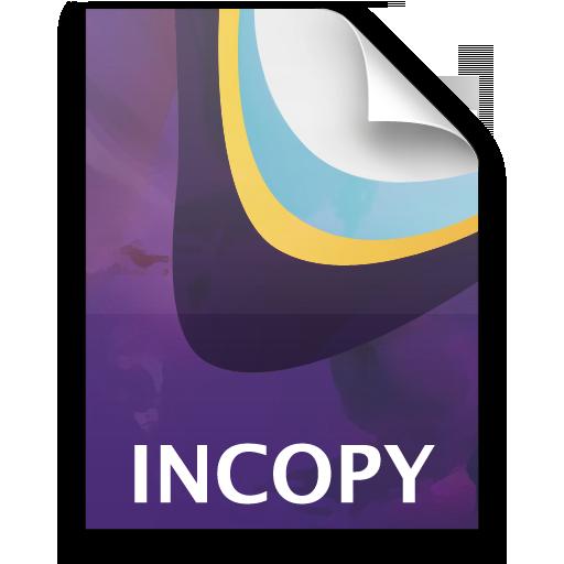 Adobe InCopy Stationary Icon 512x512 png