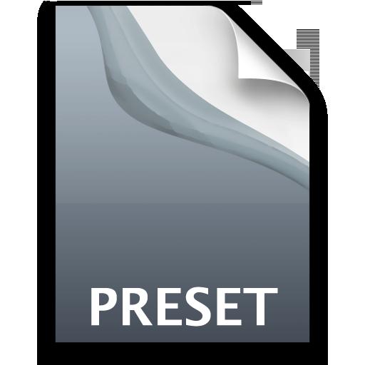 Adobe Photoshop Lightroom Preset Icon 512x512 png