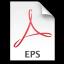 Adobe Acrobat Distiller EPS Icon 64x64 png