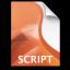 Adobe Director Script Icon 64x64 png