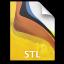 Adobe Fireworks STL Icon 64x64 png