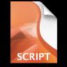 Adobe Director Script Icon 96x96 png