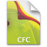 Adobe Dreamweaver CFC Icon 96x96 png