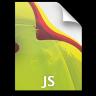 Adobe Dreamweaver JS Icon 96x96 png