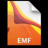 Adobe Illustrator EMF Icon 96x96 png