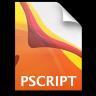 Adobe Illustrator Postscript Icon 96x96 png