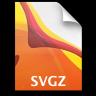 Adobe Illustrator SVGZ Icon 96x96 png