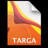 Adobe Illustrator Targa Icon 96x96 png