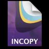 Adobe InCopy Stationary Icon 96x96 png