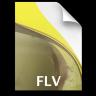 Adobe Soundbooth FLV Icon 96x96 png