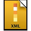Adobe Illustrator XML Icon