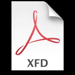 Adobe Acrobat 8 XFD Icon 256x256 png