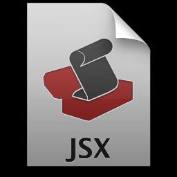 Adobe ExtendScript Toolkit JSX Icon 256x256 png