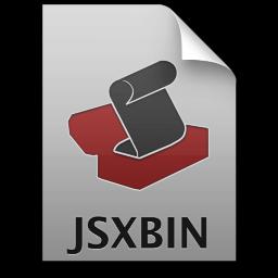 Adobe ExtendScript Toolkit JSXBIN Icon 256x256 png