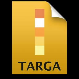 Adobe Illustrator Targa Icon 256x256 png