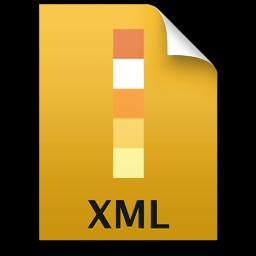 Adobe Illustrator XML Icon 256x256 png