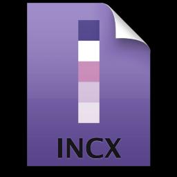 Adobe InCopy File Icon 256x256 png