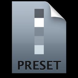 Adobe Lightroom Preset Icon 256x256 png