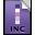 Adobe InCopy Stationary Icon 32x32 png